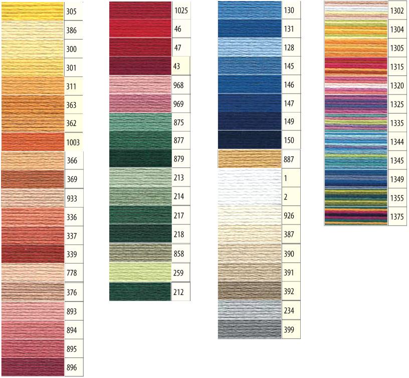 Perlgarn Nr 5 50 g Farbauswahl Sticken Hardanger