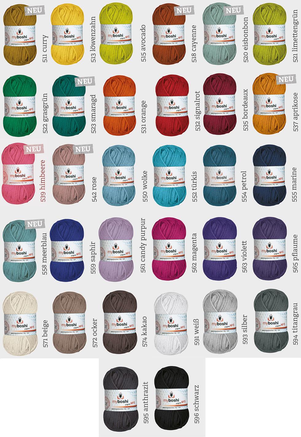 Myboshi Wolle No 5 Online Bestellen