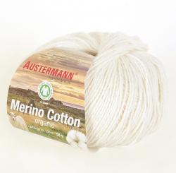 Merino Cotton Wolle Austermann 0001 natur