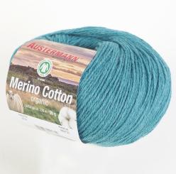 Merino Cotton Wolle Austermann 0014 lagune
