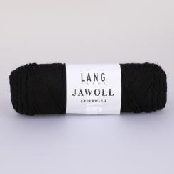 Jawoll Sockenwolle Lang Yarns 004 SCHWARZ