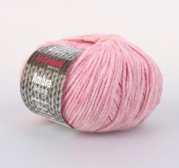Ambra Melange Wolle Schoeller Stahl 06 rosé