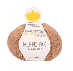 Regia Premium Merino Yak 100gr 4-fädig 07505 puder meliert