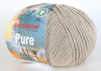 Pure Wolle Austermann 0007 leinen