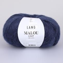 Malou Light Wolle Lang Yarns 010 STAHLBLAU
