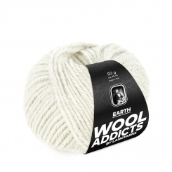 Earth Wooladdicts von Lang Yarns 94 OFFWHITE