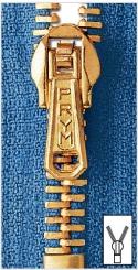 Metall Reißverschlüsse M3 goldfarbig von Prym 009 weiß | 18 cm