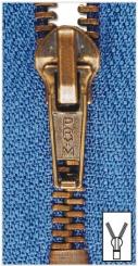 Metall Reißverschlüsse M6 altmessing von Prym 223 tinte | 20 cm