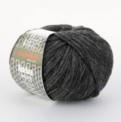 Ambra Melange Wolle Schoeller Stahl 11 dunkelgrau