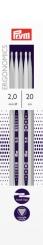 Strumpfstricknadeln Prym Ergonomics 2-8 mm