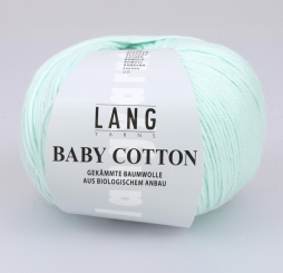 Baby Cotton Wolle Lang Yarns 058 MINT