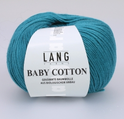 Baby Cotton Wolle Lang Yarns 088 PETROL
