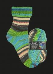 Opal Hundertwasser 1 Sockenwolle 100g-Knäuel 1432-650 Der Blaue Mond