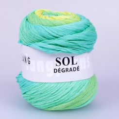 Sol Degrade Wolle Lang Yarns 144 LIMONE/GRÜN/MINT