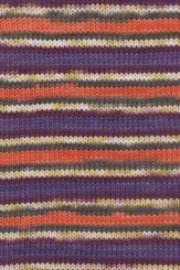 Merino 120 Color Wolle Lang Yarns 190 VIOLETT/ORANGE JACQUARD