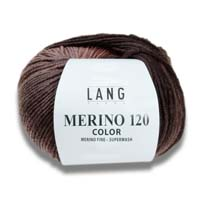 Merino 120 Color Wolle Lang Yarns