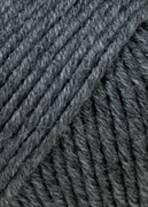 Merino + Wolle Lang Yarns 270 DUNKELGRAU  MÉLANGE
