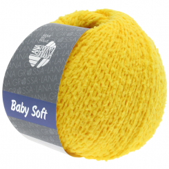 Baby Soft Wolle Lana Grossa 16 gelb
