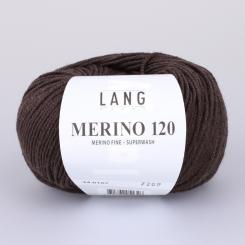 Merino 120 Wolle Lang Yarns 167 CHOCO