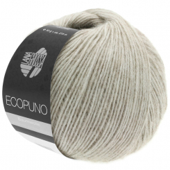 Ecopuno Wolle Lana Grossa 0018 Grège