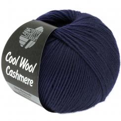 Cool Wool Cashmere Wolle Lana Grossa 18 marine