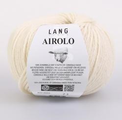 Airolo Wolle Lang Yarns 002 ECRU