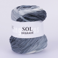 Sol Degrade Wolle Lang Yarns 023 ANTHRAZIT/SILBER