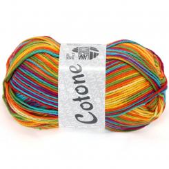 Cotone Print Wolle Lana Grossa