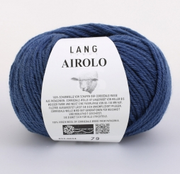 Airolo Wolle Lang Yarns 034 JEANS DUNKEL