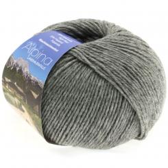 Alpina Landhauswolle Lana Grossa 05 grau meliert