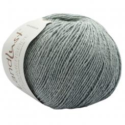 Landlust Sommerseide Wolle Lana Grossa 05 graugrün