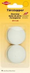 Türstopper medium selbstklebend weiß von Kleiber