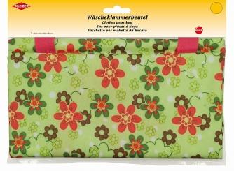 Wäscheklammer- Beutel- Blumen von Kleiber