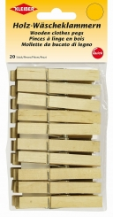 Holz- Wäscheklammern von Kleiber