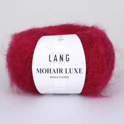 Mohair Luxe Wolle Lang Yarns 060 ROT