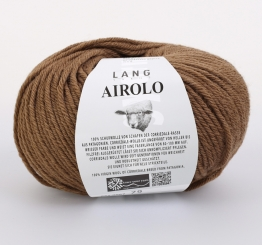 Airolo Wolle Lang Yarns 067 BRAUN