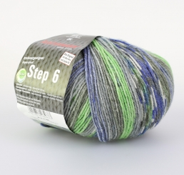 Step 150g 6-fädig Irish Color Sockenwolle Austermann 716 bergwiese