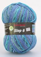 Step 150g 6-fädig Color Sockenwolle Austermann 717 lagune