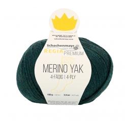 Regia Premium Merino Yak 100gr 4-fädig 07514 teal meliert