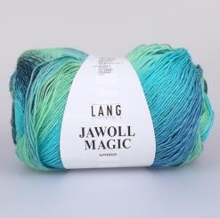 Jawoll  Magic 4-fädig 100g Sockenwolle Lang Yarns 078 TÜRKIS