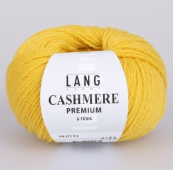 Cashmere Premium Wolle Lang Yarns 113 GELB