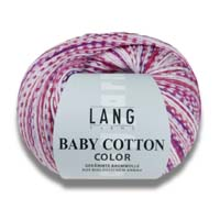 Baby Cotton Color Wolle Lang Yarns