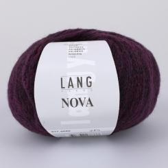 Nova Wolle Lang Yarns 080 AUBERGINE