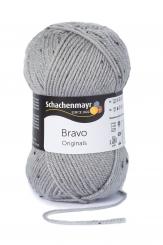 Bravo Wolle Schachenmayr 8376 hellgrau tweed