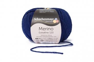 Merino Extrafine 120 Wolle Schachenmayr 00158 deep