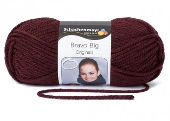 Bravo Big Wolle Schachenmayr 00135 burgund meliert
