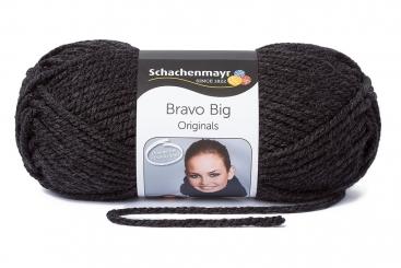 Bravo Big Wolle Schachenmayr 00198 anthrazit meliert
