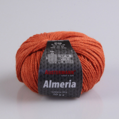 Almeria Wolle Austermann 13 kürbis