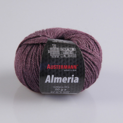 Almeria Wolle Austermann 09 brombeer
