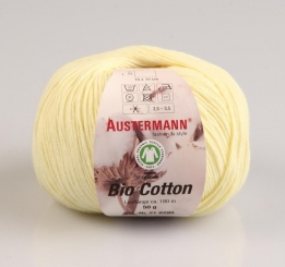 Bio Cotton Wolle Austermann 12 mimose